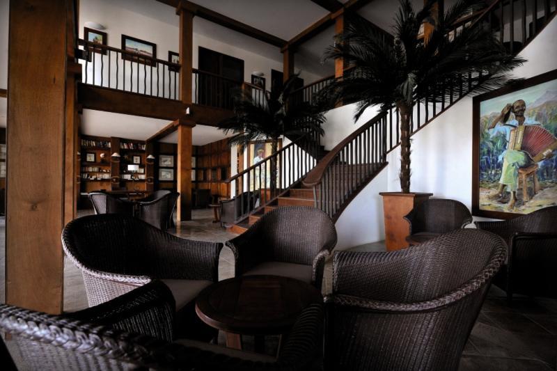 Morabeza Lounge/Empfang