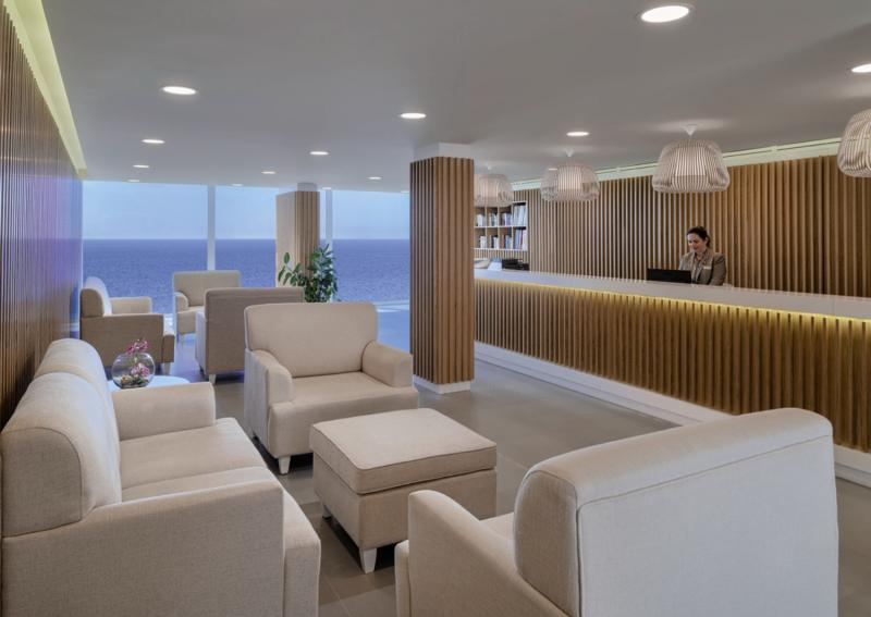 Xq El Palacete Lounge/Empfang