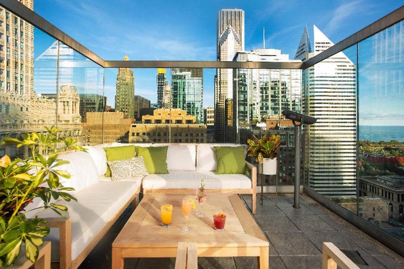The Wit Hotel Terrasse