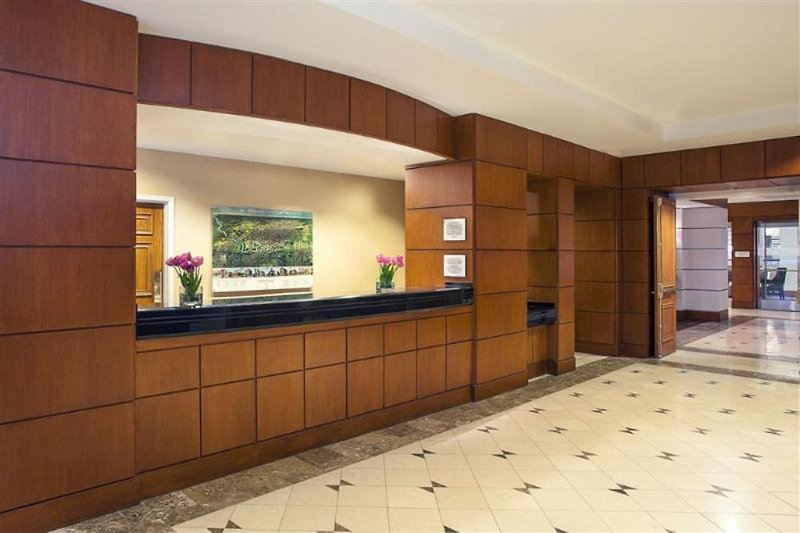 Sheraton Suites Houston Near The Galleria Lounge/Empfang