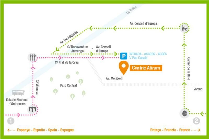 Centric Atiram Landkarte