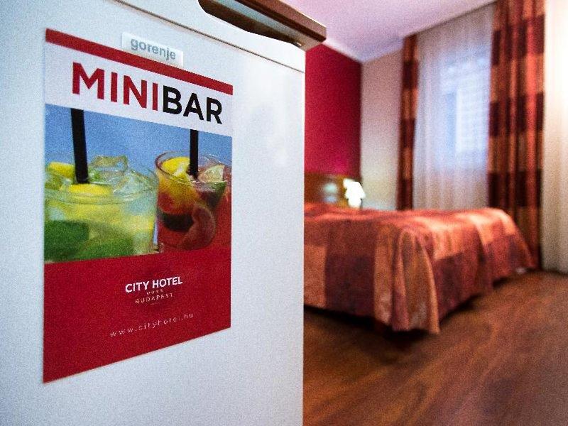 City Hotel Budapest Lounge/Empfang