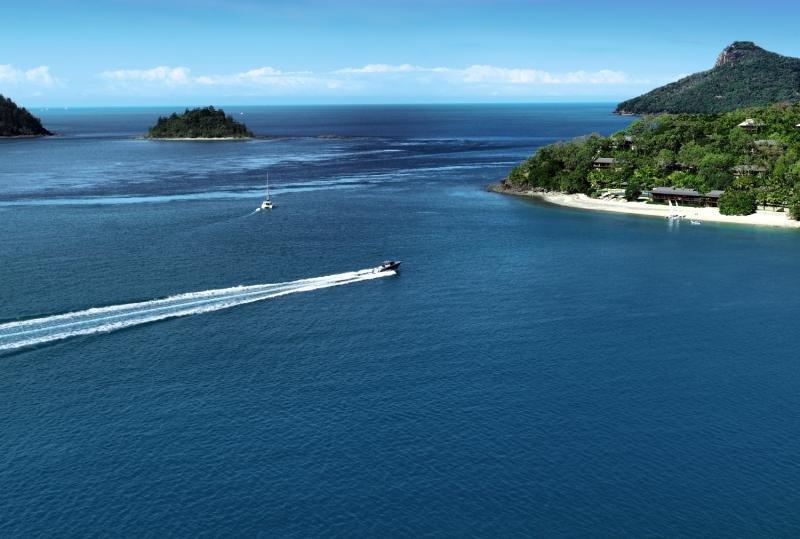 Hamilton Island Reef View Landschaft