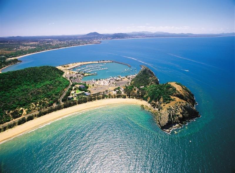 Rosslyn Bay Resort Landschaft