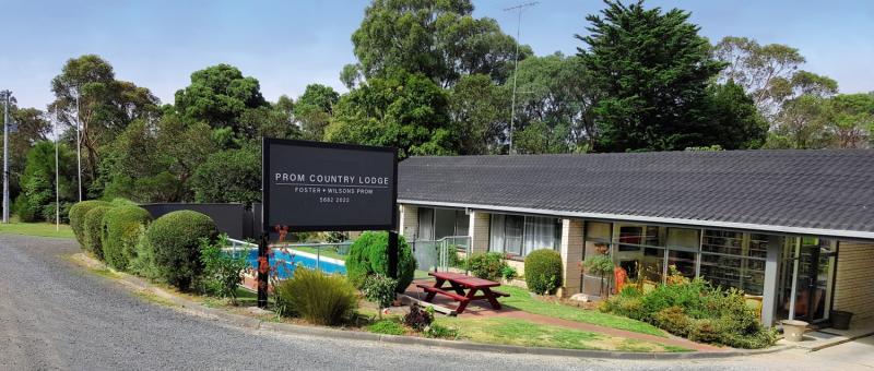 Prom Country Lodge  Garten