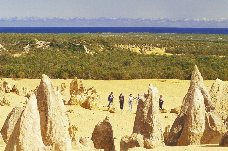 Cervantes Pinnacles Motel Landschaft