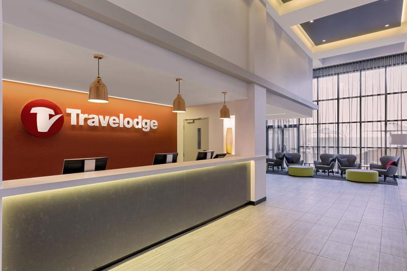 Travelodge Sydney Airport Lounge/Empfang
