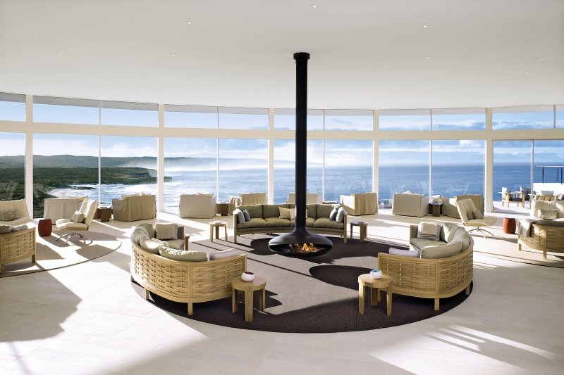 Southern Ocean Lodge Lounge/Empfang