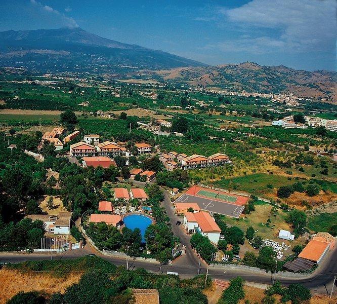 Villaggio Alkantara Landschaft