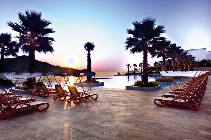 Xanadu Island Resort Terrasse