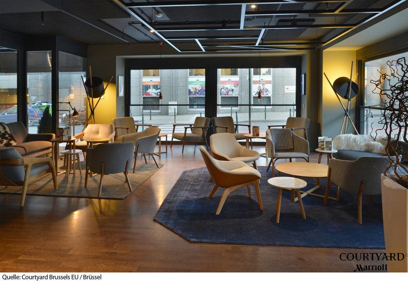 Courtyard by Marriott Brussels EU Lounge/Empfang