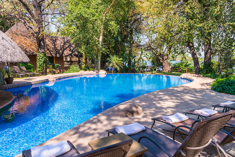aha Chobe Marina Lodge Pool