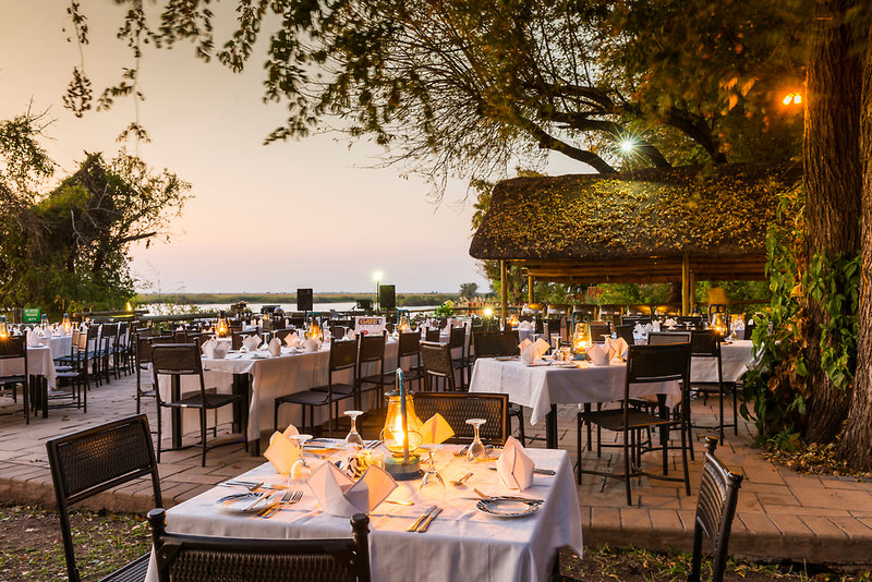aha Chobe Marina Lodge Restaurant