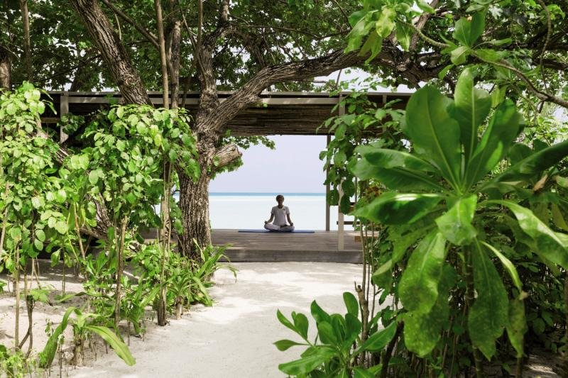 LUX* South Ari Atoll Garten