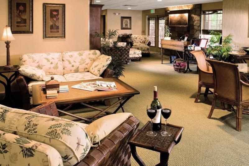Christmas Farm Inn & Spa Lounge/Empfang