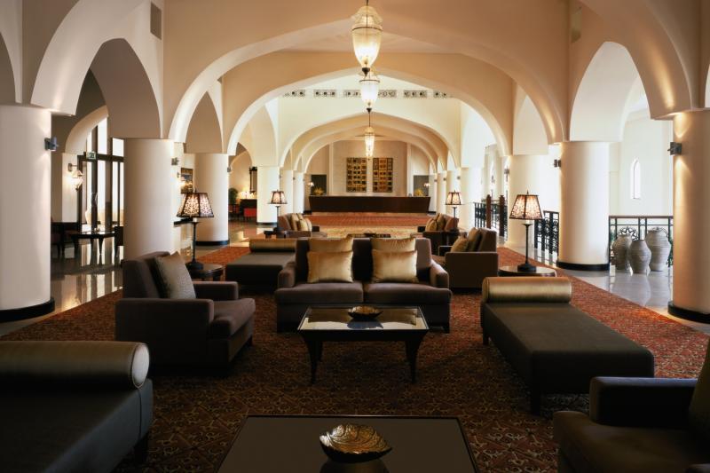 Shangri-La Barr Al Jissah Resort & Spa Al Waha Lounge/Empfang