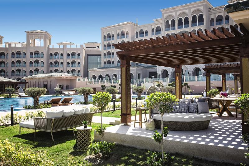 Jumeirah Royal Saray  Terrasse