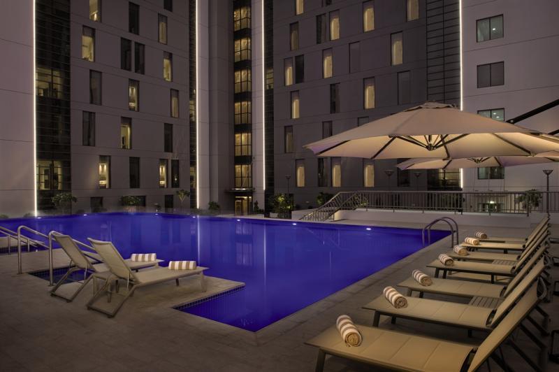 Hampton by Hilton Dubai Airport Pool