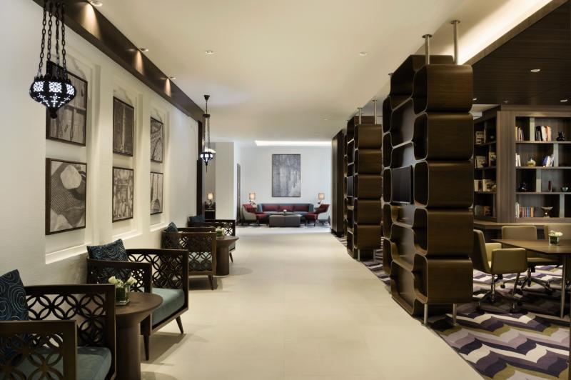Hampton by Hilton Dubai Airport Lounge/Empfang