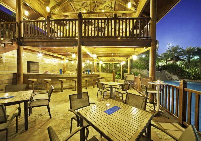 Gulf Hotel Bahrain Terrasse