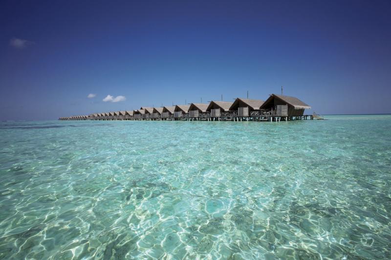 LUX* South Ari Atoll Landschaft