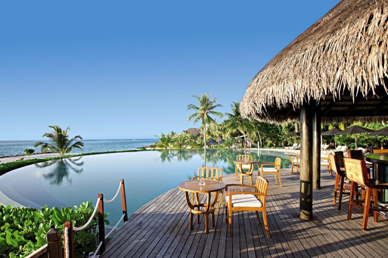 LUX* South Ari Atoll Terrasse
