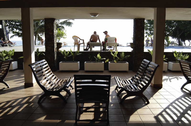 Koggala Beach Terrasse