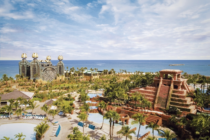 Atlantis Paradise Island - The Coral Landschaft