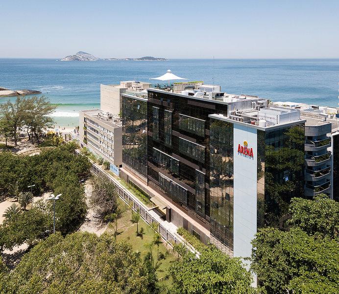 Arena Ipanema Hotel Landschaft
