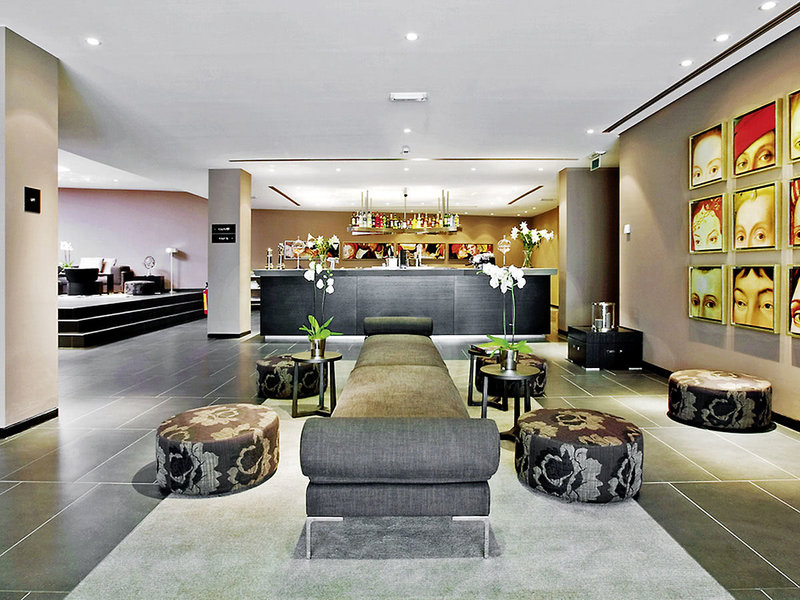 Tryp By Wyndham Antwerp Lounge/Empfang
