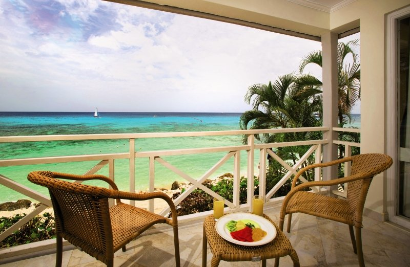 The Club Barbados Resort & Spa - Erwachsenenhotel ab 16 Jahren Terrasse