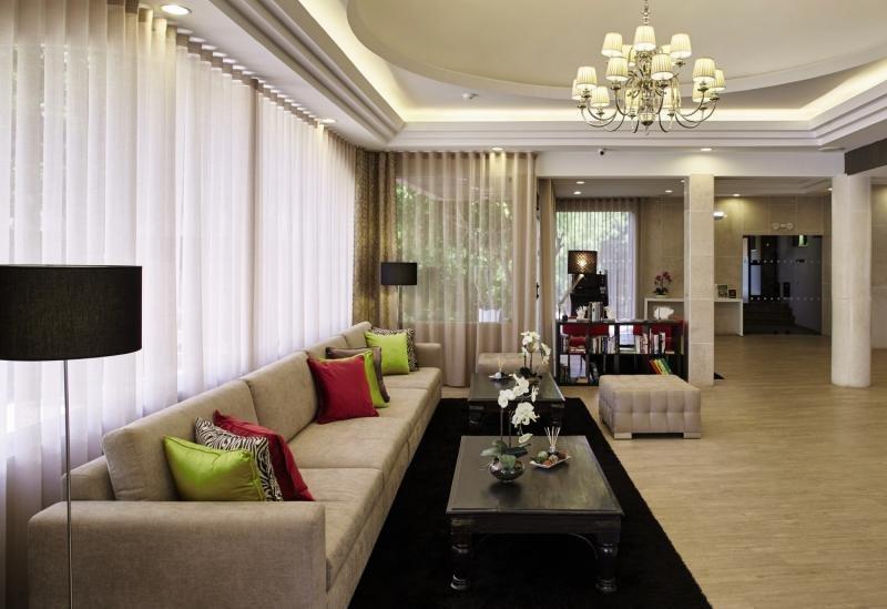 Luna Clube Oceano Lounge/Empfang