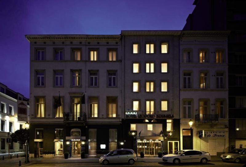 Leopold Hotel Brussels EU Außenaufnahme