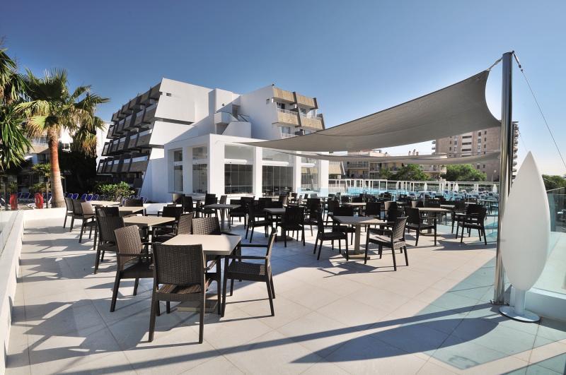 Mar Hotels Rosa Del Mar Terrasse