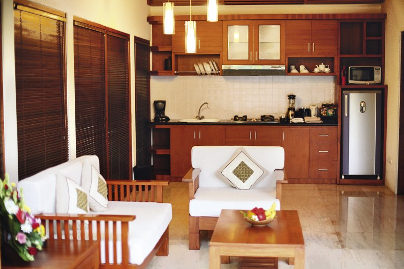 Bali Baliku Private Pool Villas Wohnbeispiel