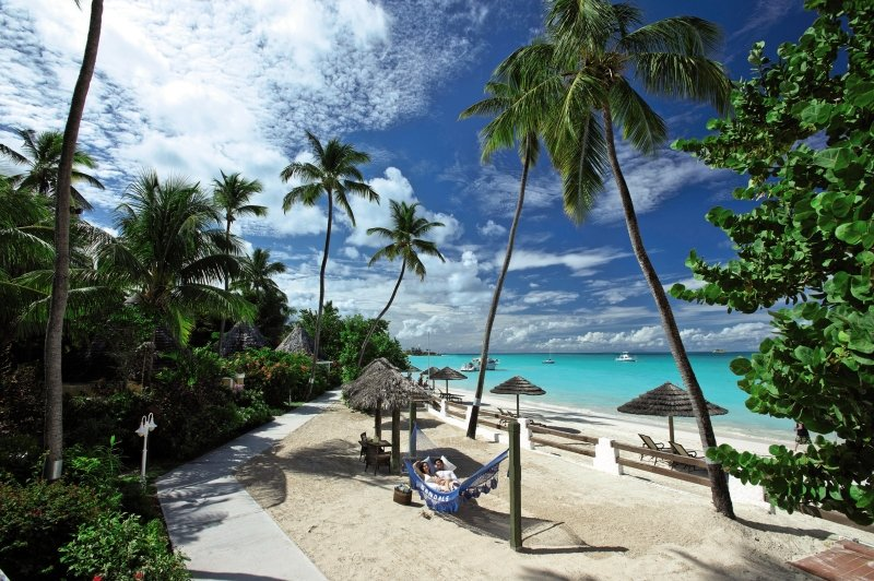 Sandals Grande Antigua Resort & Spa Garten