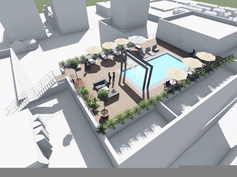 The Jung Hotel & Residences Modellaufnahme