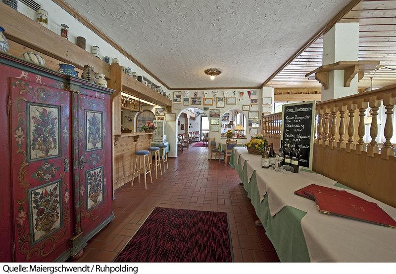 Landhotel Maiergschwendt Lounge/Empfang