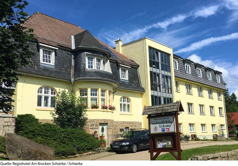 Regiohotel am Brocken Schierke Außenaufnahme
