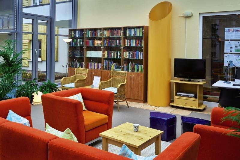 Precise Resort Marina Wolfsbruch Lounge/Empfang