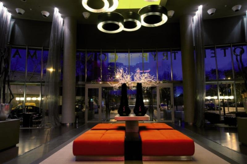Hotel Barcelona Condal Mar managed by Melia Lounge/Empfang