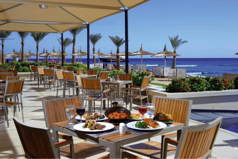 Beach Albatros Resort Terrasse