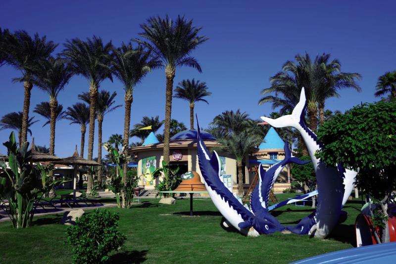 Beach Albatros Resort Garten