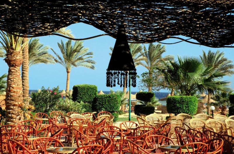 Flamenco Beach & Flamenco Resort Terrasse