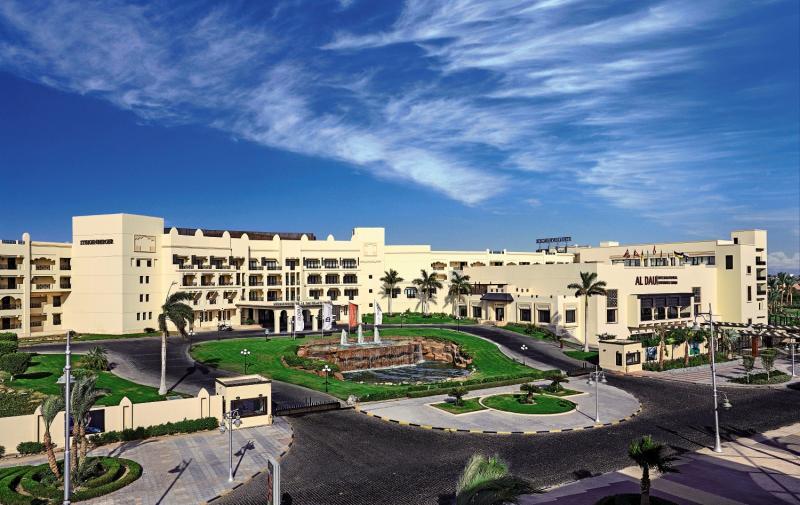 Steigenberger Al Dau Beach Hotel Terrasse